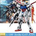 Дабан модель новый Gundam семян хобби мг GAT-X105 ailé удар Gundam ver. Rm 1/100 масштаб фигурку модель для сборки собраны игрушки аниме