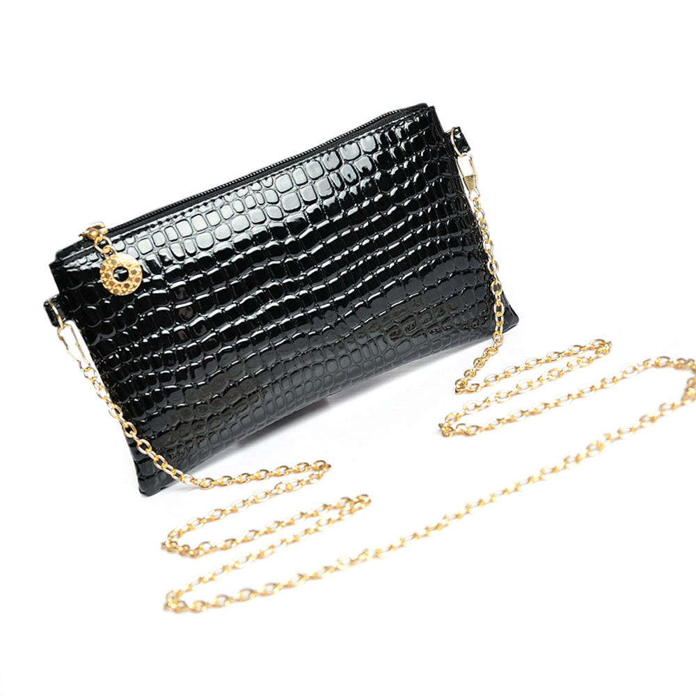 New Fashion Women PU Leather Clutch bag Ladies Mini Messenger Shoulder Bag 2016 Flap Evening Clutches Handbag Party Crossbody  new arrived ladies pu leather retro handbag luxury women bag evening bag fashion black pearl chain shoulder bag party clutch bag