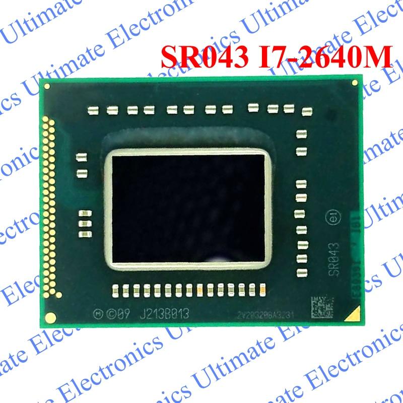 ELECYINGFO Used SR043 I7 2640M SR043 I7 2640M BGA chip