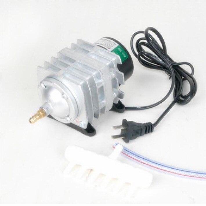220 V 25 W 45L/min Hailea ACO-208 compresseur d'air électromagnétique Aquarium pompe à Air électrique pompe d'aquarium expédition rapide