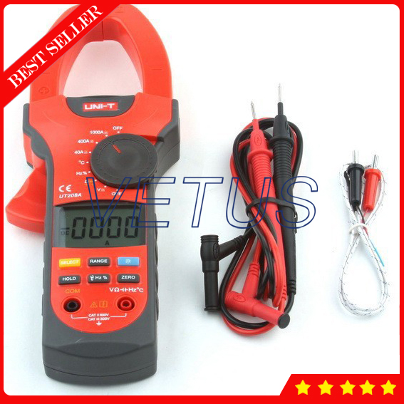UNI-T UT208A Digital AC DC Clamp Meter Price мультиметр uni t uni t ut71b alicate amperimetro ac dc