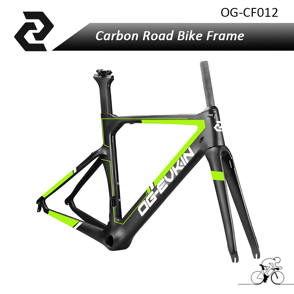 OG-EVKIN china T800 best high quality Cyclocross Bike full Carbon fiber bicycle frame road Bicicleta DI2 45/48/50/52/54/56cm mountain bike four perlin disc hubs 32 holes high quality lightweight flexible rotation bicycle hubs bzh002