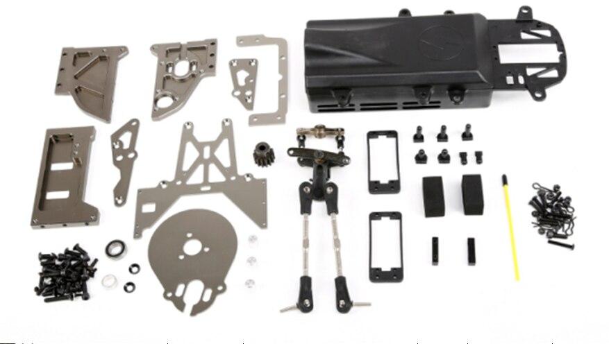 Gas Motor change to Eletric Brushless Conversion Without power Kit for HPI Baja hpi baja losi gas engine 23cc 26cc 29cc 30 5cc up to 36cc conversion kit clutch cover crankshaft cylinder piston flywheel