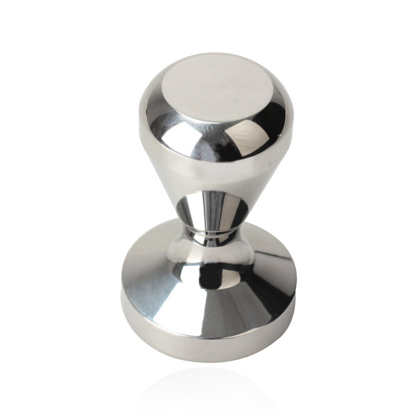 Coffee Tamper Silver Coffee Accessories Barista Espresso Tamper 51mm Base Clear Body Stainless Steel Press Coffee