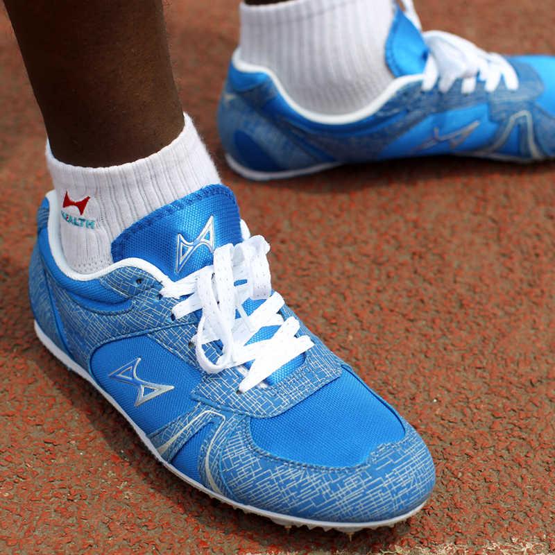 Health leichtathletik für männer spike nagel schuhe student ausbildung sprint laufschuhe 2016 turnschuhe Männer Sportschuhe größe 33-45