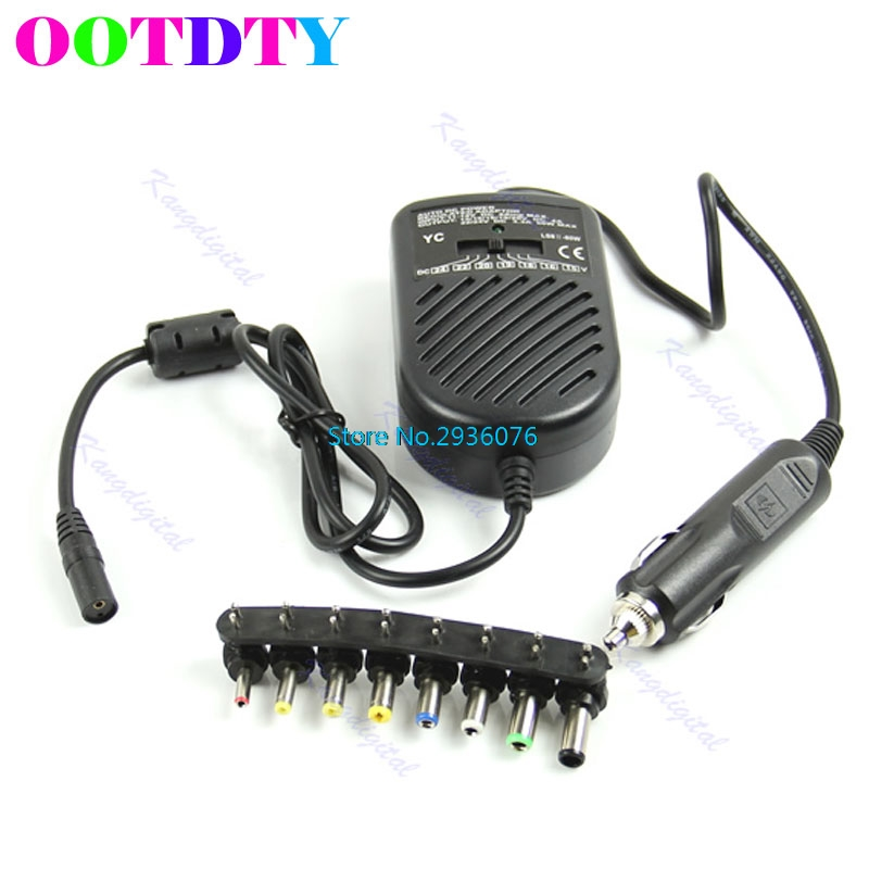 Universal DC 80W Car Auto Charger Adapters Power Supply Adapter Set For Laptop Notebook APR14_35 fit for subaru forester 2013 2014 2015 2016 2017 2018 car styling abs chrome body side overlay cover trim trims