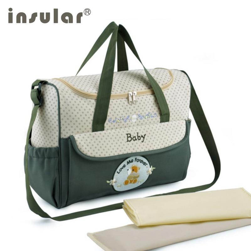 Insular Mummy Baby Bag Multifunctional Baby Diaper ...