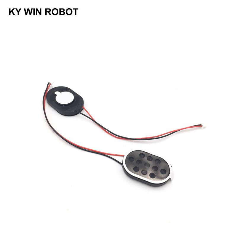 Image 4 - 2pcs New Electronic dog GPS navigation speaker plate 8R 1W 8ohm 1W 2030 20*30*4mm with 1.25mm terminal wire length 10CM-in Acoustic Components from Electronic Components & Supplies