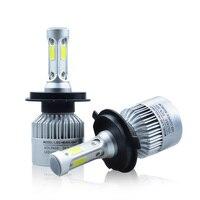 COB LED H7 Car Headlights Kit 66W 6000lm Auto Cree Front Light H7 Fog Bulb White