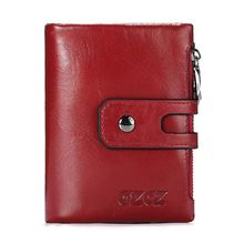 Men Women Leather Short Wallet Pocket Coin ID Credit Card Money Holder Clutch Purse the new wallets for men coin pocket wallet id credit card ultra thin short sequined pu high quality fabric money dollar coin bag