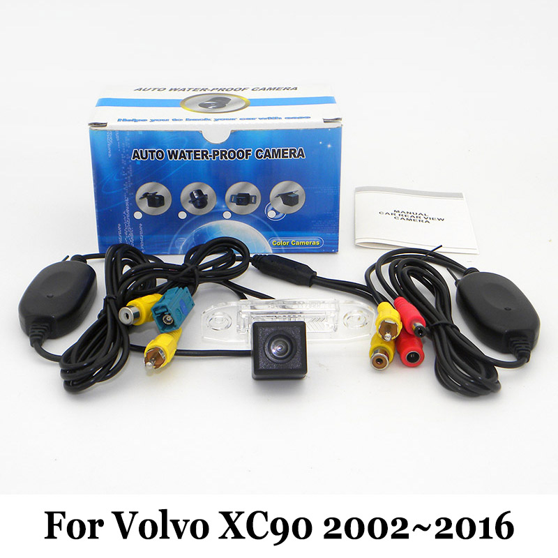 Car Rear View Camera For Volvo XC90 2002 2016 RCA Wired Or Wireless HD Wide Lens