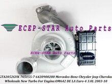 E- Turbo 757608-0004 765155 765155-0009 A6420900280 765155-0004 757608-0004 765155-0007 A6420901480 For Chrysler W211 W461 W164