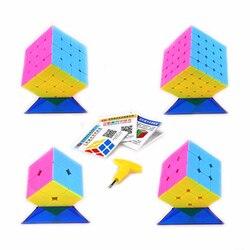 Yongjun 2x2x2 3x3x3 4x4x4 5x5x5 Cubo magico Regalo Scatola di Velocità Di trasporto Puzzle Gioco Cubi Giocattoli Educativi Regalo per I Bambini Bambini