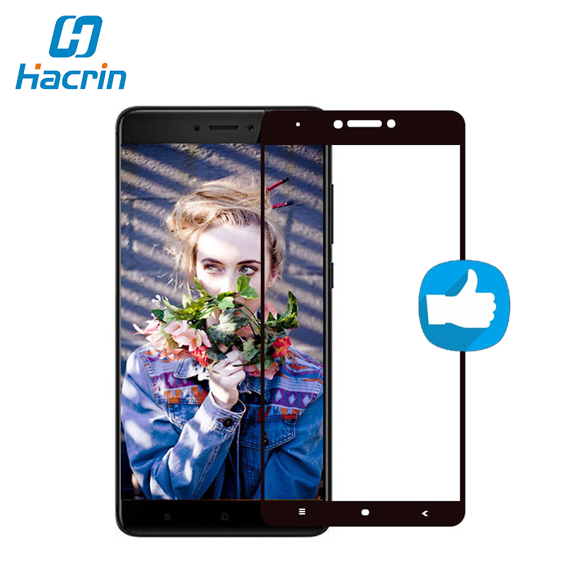Hacrin For Xiaomi Redmi Note 4X Tempered Glass New Full Cover Screen Protector Film For Xiaomi Redmi Note 4X Pro Global Version ...