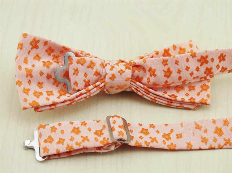 Moda Papillon Per Gli Uomini Rustico Vintage Business Casual Wedding Tuxedo Cravatte a Farfalla Floreale Bowtie