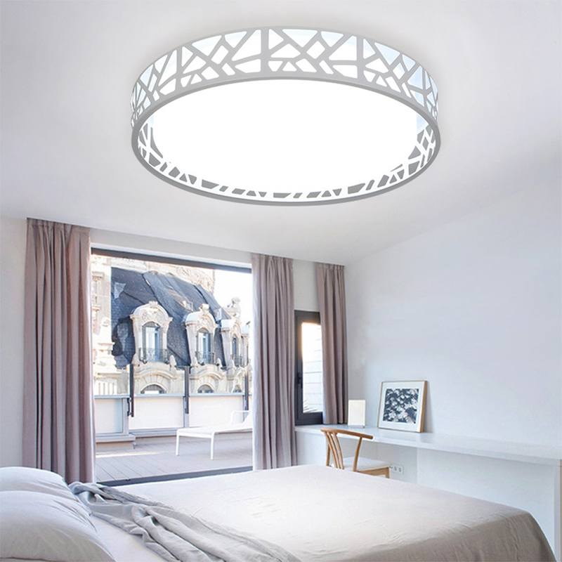 24W Acryle Round Circular Celling light AC90-260V 3 Color Switchable Warm White/White/Cold White Lampara For Living Room Bedroom24W Acryle Round Circular Celling light AC90-260V 3 Color Switchable Warm White/White/Cold White Lampara For Living Room Bedroom