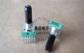 [VK] ALPHA A20K 142 importado Taiwan interruptor Rambler misturador vertical dupla potenciômetro comprimento do punho 18 MM