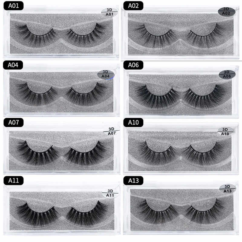 b2fa9827797 Lash Mink Eyelashes 3D Mink Hair Lashes Wholesale Real Mink Fur Handmade  Crossing Lashes Thick Lash