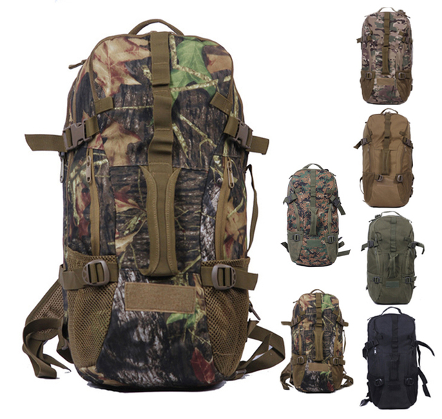 af6eea8168d9 Realtree Waterproof Military Tactical Molle Laptop Backpack 15.6 14.1 Men  Sports Mountaineer Camping Hiking Travel Backpacks Bag