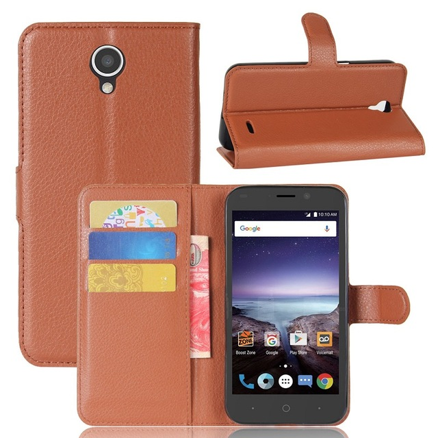 Classic Luxury Leather Flip Case For Coque ZTE Prestige 2 N9136 N 9136 Wallet Card Holder Phone Cases Cover Fundas