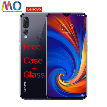 Lenovo Z5S Smartphone Android 9 Qualcomm 2.2GHz 6.3″ 4GB RAM 64GB ROM 16MP B20 Fingerprint Face ID Mobile Cell Phone Lenovo Phones