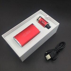Image 3 - Electronic Cigarette 30W 60W 80W Adjustable Vape Mod V3 Box kit 2200mah 0.2ohm Battery 2ml tank