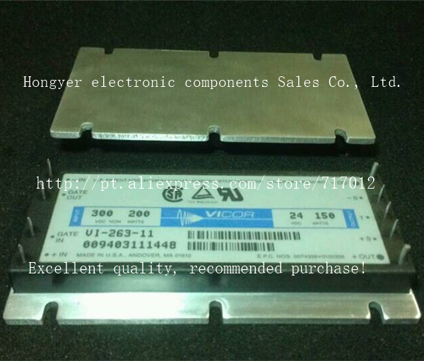 Free Shipping VI-263-11  DC/DC: 300V-24V-150W ,Can directly buy or contact the seller vi 263 ix