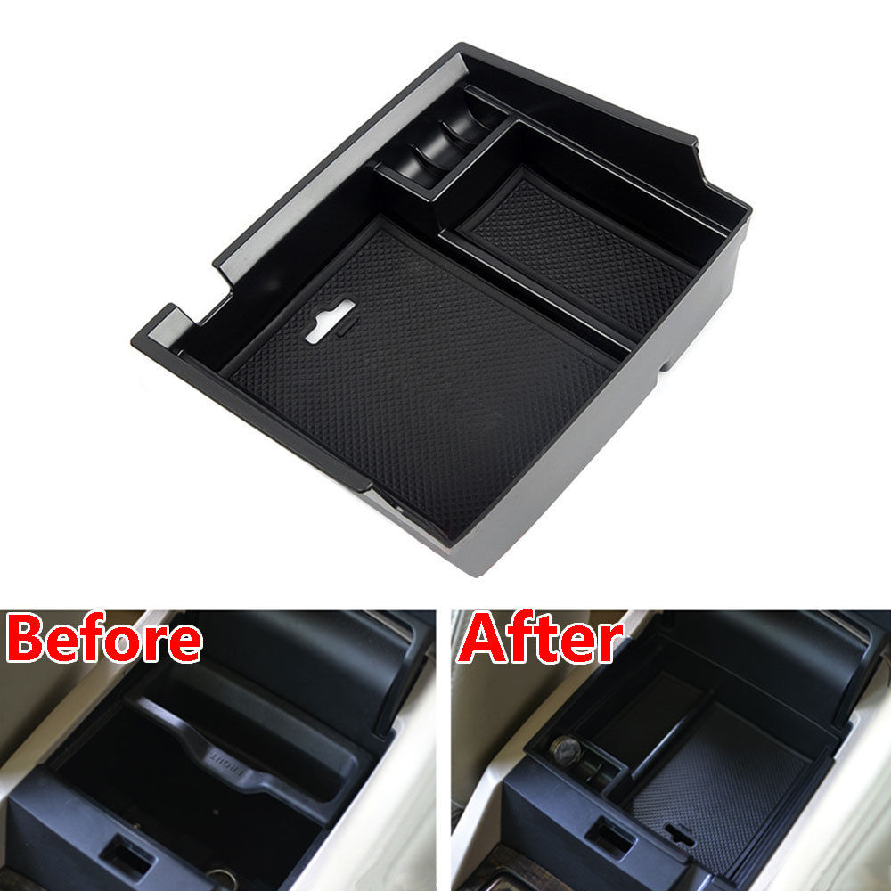 ARMREST STORAGE BOX PALLET CENTER CONSOLE BIN TRAY For Honda Accord 2013-2017