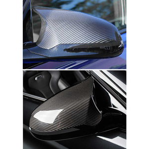 Image 4 - 1 Pair For BMW M3 F80 M4 F82 2015 2018 Carbon Fiber Mirror Cover Car Accessories Practical Convenient Installation