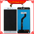 Black/White LCD Display For ZTE Blade X3 D2 T620 A452 LCD Display with Touch Screen Digitizer Assembly Free Tools