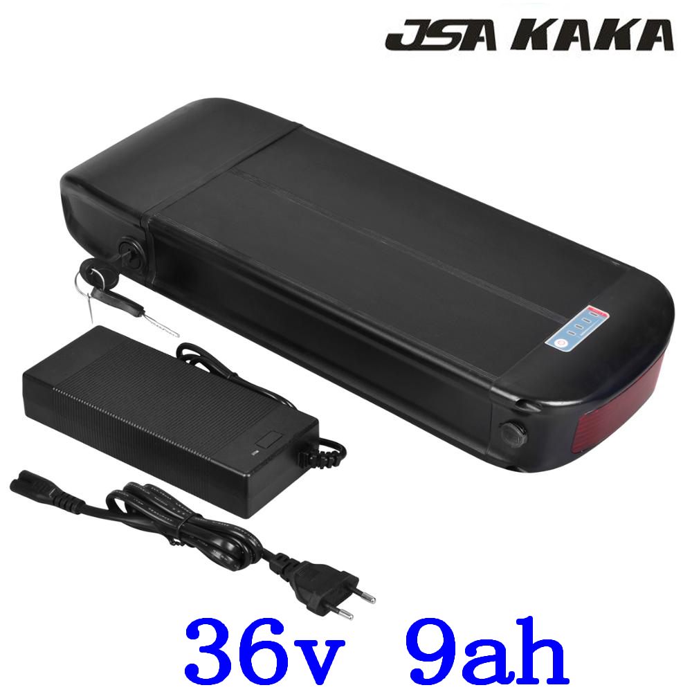 36V 500W 350W 250W ebike battery 36V 9AH rear rack Li-ion battery 36V 8AH electric bicycle battery with charger +luggage rack36V 500W 350W 250W ebike battery 36V 9AH rear rack Li-ion battery 36V 8AH electric bicycle battery with charger +luggage rack