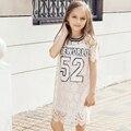 2016 летних девочек хлопок фрок дизайн кружева стиль одежды для подростков возраст 5 6 7 8 9 10 11 12 13 14 т лет рождения детей