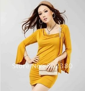 Free shipping 2011 hot sell newest design fashion sexy tight dress/ ladies dress women dress hot!!