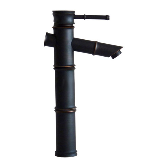 Black Oil Rubbed Brass Bamboo Style Single Handle Lever Bathroom Vessel Sink Basin Faucet Mixer Taps ahg009Black Oil Rubbed Brass Bamboo Style Single Handle Lever Bathroom Vessel Sink Basin Faucet Mixer Taps ahg009