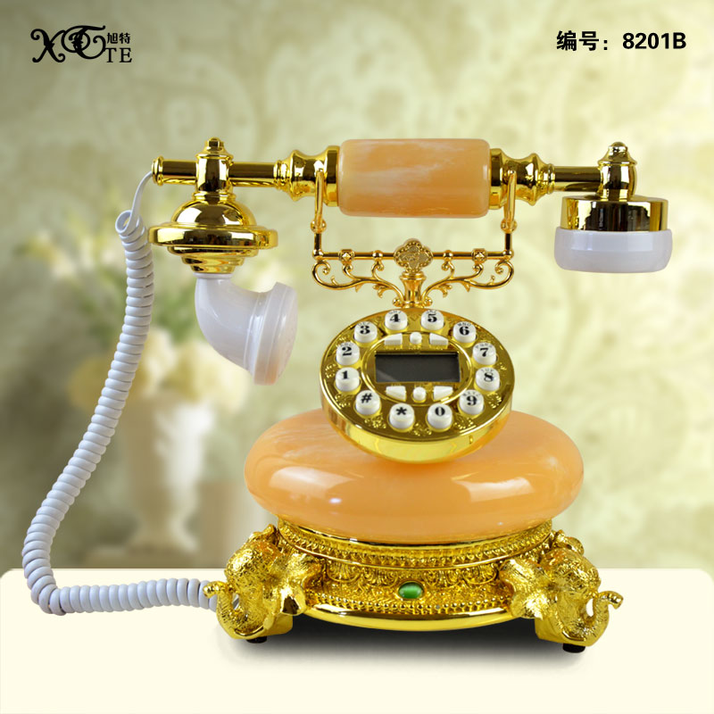 En gros jeune fille artisanat Antique téléphone technologie mode décoration ouverture cadeaux vintage artisanat