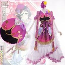 Amor En Vivo! escuela idol festival de dios de la fortuna nozomi tojo cosplay traje de diosa fairy dress de halloween fancy dress