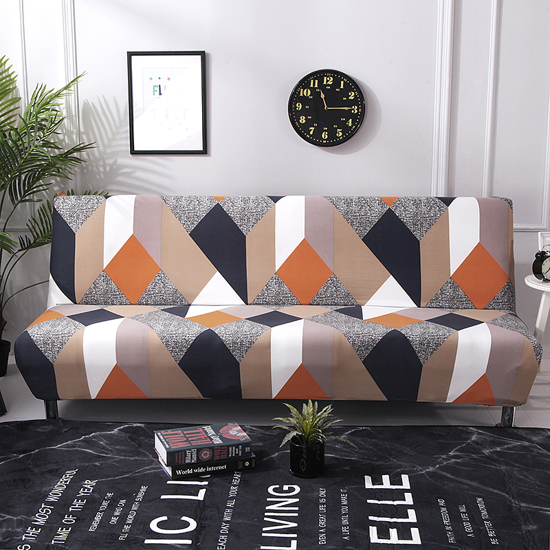 1pc All inclusive Sofa Cover Elastic Tight Wrap Sofa Towel Slipcover Covers Couch Without Armrest Folding Sofa Bed Cubre Sofa