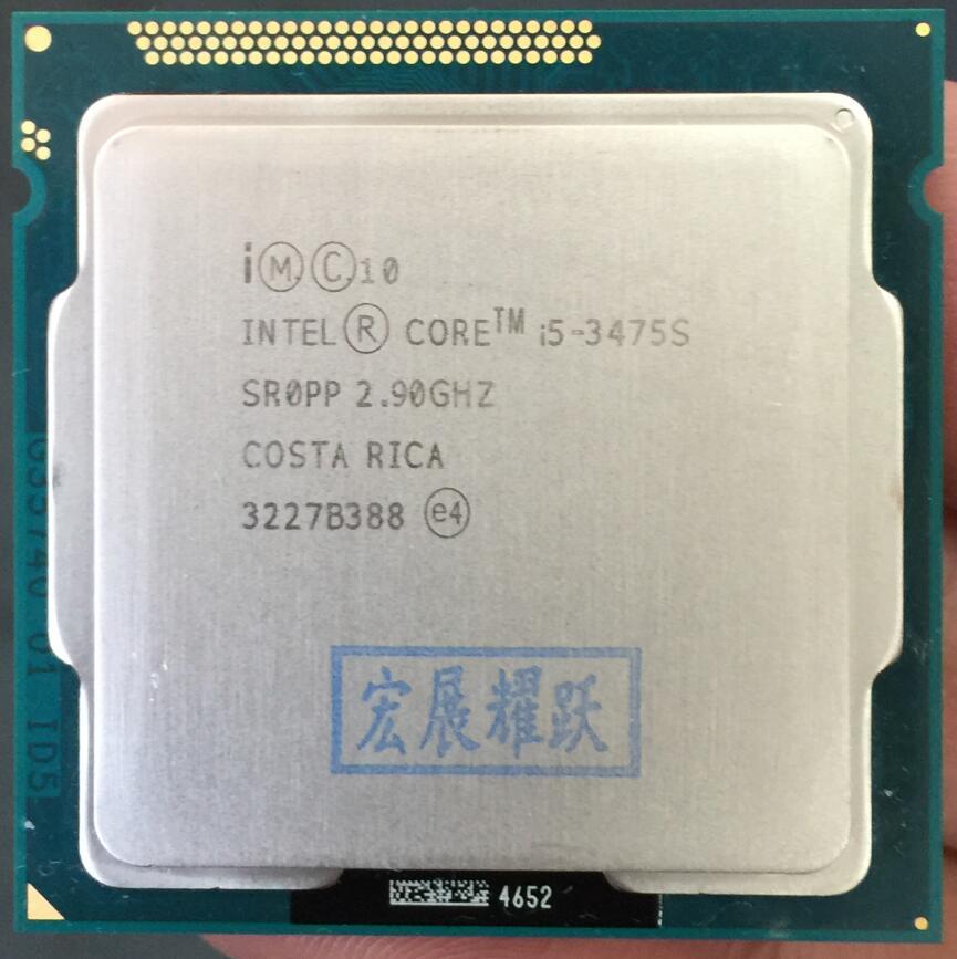 Intel Core i5-3475S i5 3475S Processor CPU LGA 1155 100% working properly Desktop Processor