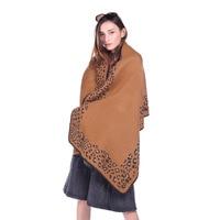 Scarfblog Leopard Scarf Imitation Pashmina Tartan Womens Scarfs Winter Coat Women Poncho Women Bohemian Foulard Femme Folk