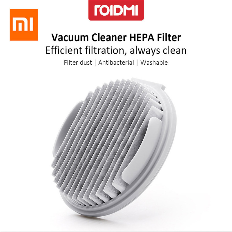 Original Xiaomi ROIDMI XCQLX01RM Efficient HEPA Filter for Cordless Vacuum Cleaner 2pcs Xiaomi Ecosysterm Product фильтр xiaomi hepa для roidmi f8