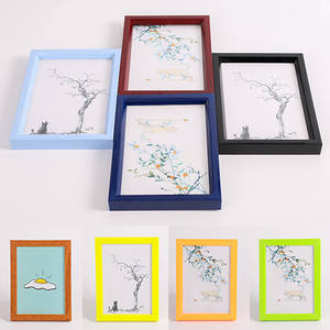 Picture-Frame Wall-Table Photo-Display Diy-Decoration Plastic Multi-Color Home PVC