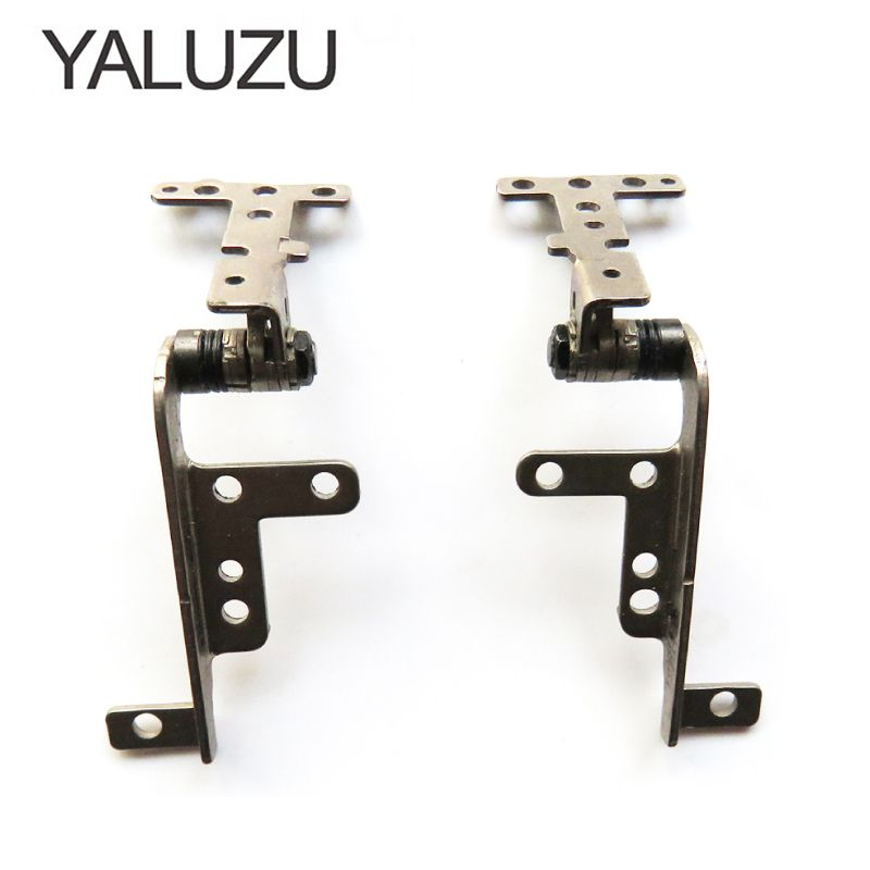 YALUZU New Laptop LCD Hinge For ASUS U36 U36J U36JC U36S U36SD U36SJ U36SG U36T U36R Left + Right Hinges 13GN1810M050-1 13GN181