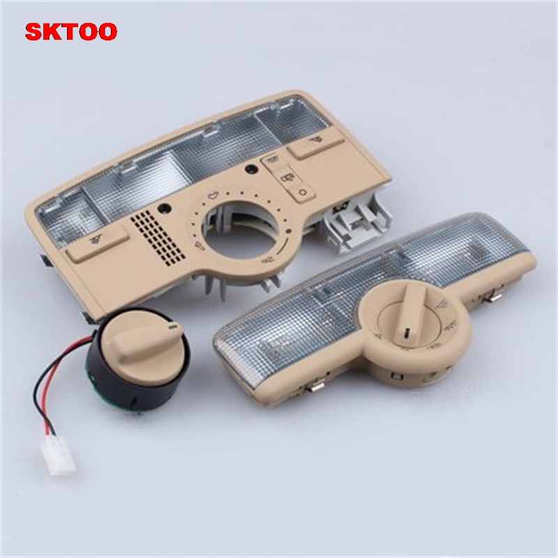 SKTOO Car reading lamp dome light skylight reading light switch for Volkswagen Passat B5 06-08 OEM 3BD 947 105 A/3B7 947 106 B