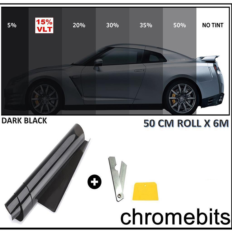 Insulate Car Windows: 3M*50cm Car Window Film Insulation Stickers Anti UV