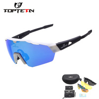 3 Lens 2018 Brand Design Cycling Glasses Eyewear TR90 Polarzied Men Women Outdoor Sports Bike Bicycle Cycling Sunglasses Goggles