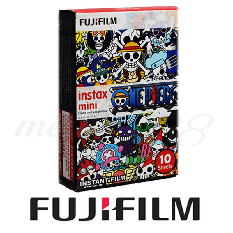 10 Sheets Original Fujifilm Instax Mini Instant Film for Polariod Mini 7s 8 25 50s 90 One Piece Fuji mini film