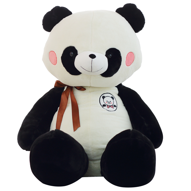 1pc 60cm New Classic Panda Plush Toy Stuffed Animal Bear Doll Cute Kids Toy Soft Pillow Good Valentine's Gift Cartoon Gift stuffed animal jungle lion 80cm plush toy soft doll toy w56
