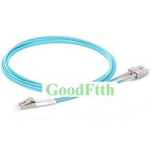 Faser Patchkabel Jumper Kabel SC LC Multimode 50/125 10G OM3 Duplex GoodFtth 20 100 m