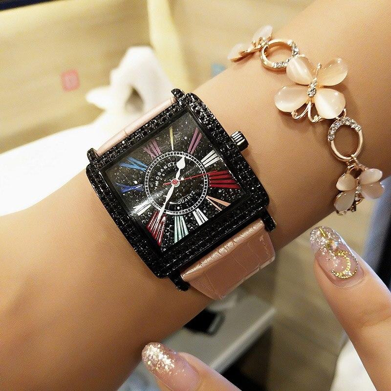 Top Luxury Brand Women Watches Fashion Dress Watch Women Casual Ladies Quartz Leather Wristwatch Montre Femme Reloj Mujer