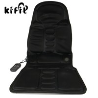 KIFIT Practical 2 IN 1 Home And Car Massaging Back Massage Seat Pad Neck Massager Chair